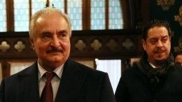 ВМИД РФподтвердили отъезд Хафтара без подписания перемирия сПНС