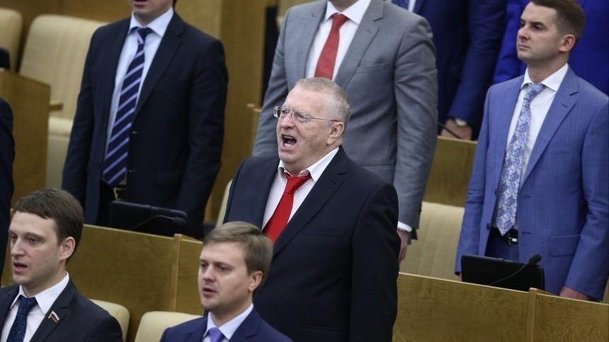 Кончаловский прокомментировал идею Жириновского сократить гимн России