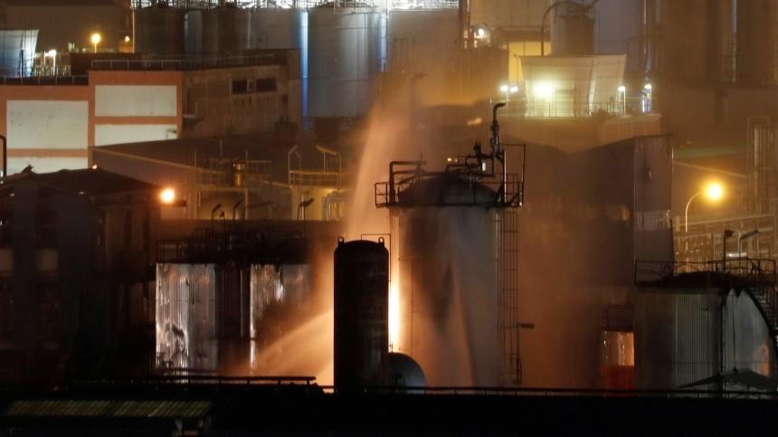 Правительство Каталонии заверило вбезопасности воздуха после взрыва назаводе