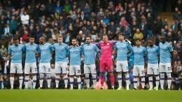 Футболистов «Манчестер Сити» приехали поздравить спобедой 22 модели