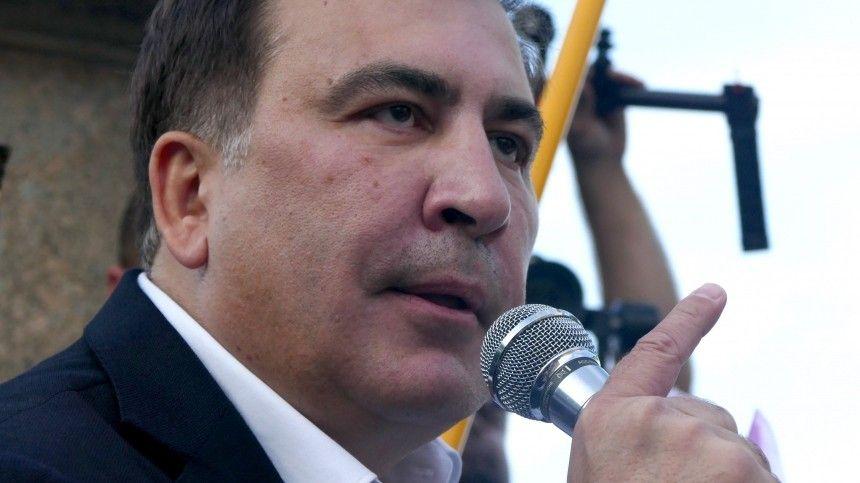 Грузинские власти заподозрили Михаила Саакашвили впопытке госпереворота
