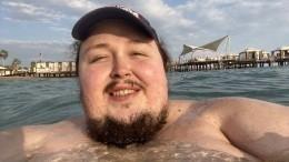 «Язабодипозитив»: Сын Никаса Сафронова отказался худеть после инцидента всамолете