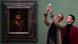Музейное селфи: вовсем мире посетители соревновались вкреативности фото