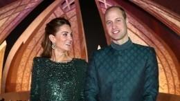 Герцоги Кембриджские нанесли свой первый официальный визит в2020 году