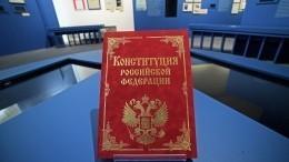 Всероссийское голосование попоправкам вКонституцию могут провести до1мая