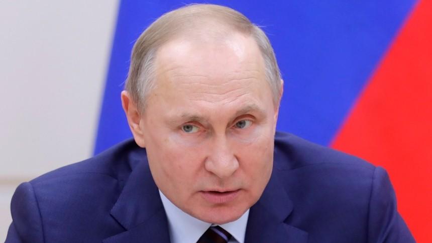 Владимир Путин констатировал недопустимость неправовых решений ЕСПЧ