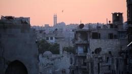 Семь человек погибло при обстреле жилых кварталов Алеппо