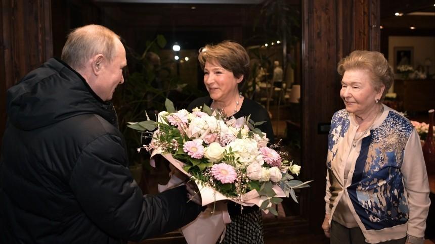 Владимир Путин лично поздравил дочь Бориса Ельцина сюбилеем