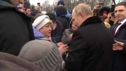 Путин пообещал помочь 94-летней петербурженке