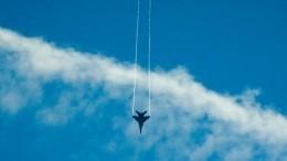«Выгул слона»: Эффектные кадры построения истребителей МиГ-29 вЕгипте