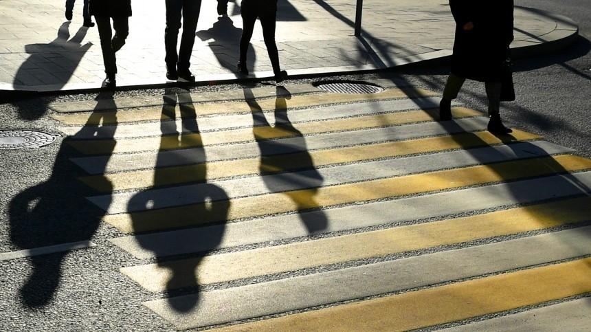 Видео: неадекватный пешеход устроил стрельбу надороге вЛенобласти