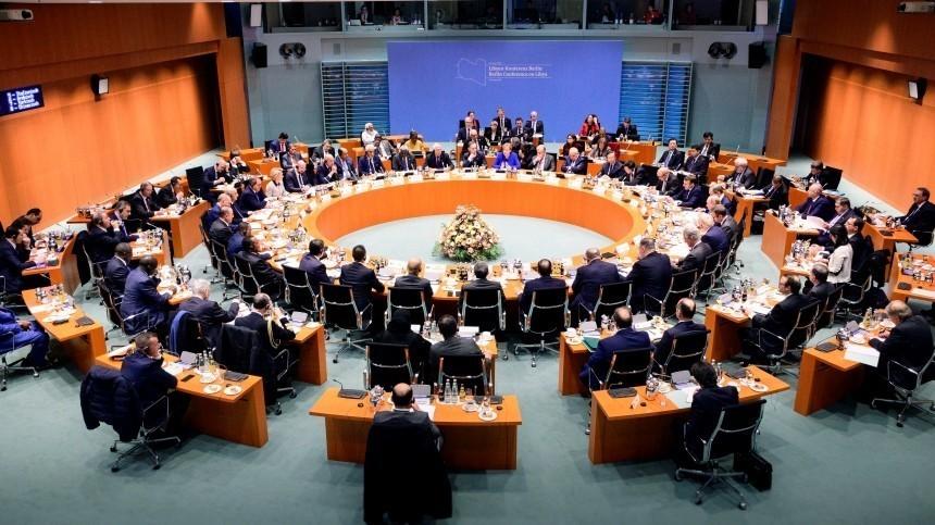 Участники берлинской конференции договорились оперемирии вЛивии