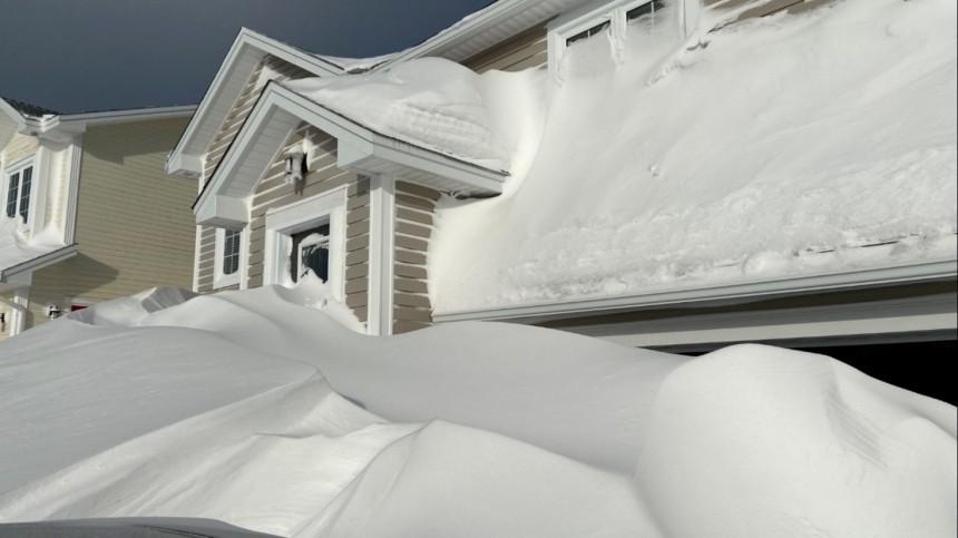 ВКанаде из-за сильного снегопада объявлено чрезвычайное положение