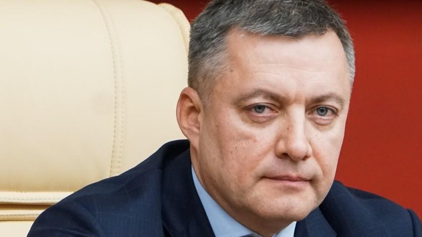 Глава Иркутской области уволил двух чиновников изпрежней команды заутрату доверия