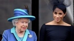 Елизавета II отобрала уМеган Маркл все королевские украшения