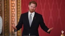 Принц Гарри покинул Лондон иуехал вКанаду