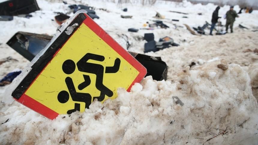 Школьный автобус перевернулся вИвановской области, есть пострадавшие