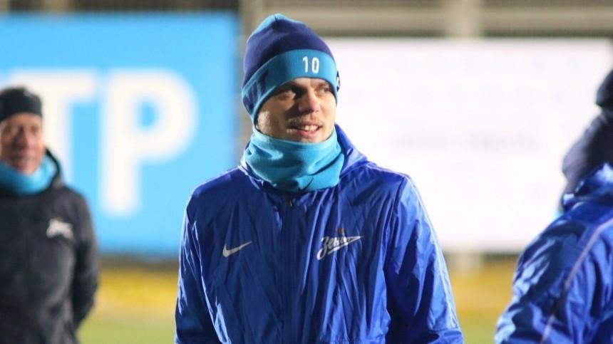 Кокорин всоставе «Зенита» вматче с«Аль-Увайнахом» забил два гола затри минуты