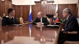 Путин предложил Чайке стать полпредом наСеверном Кавказе