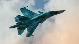 Истребитель Су-34 сможет обнаружить невидимые цели