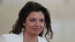 Главреда «Russia Today» Маргариту Симоньян госпитализировали
