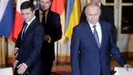 Киев запросил встречу Зеленского сПутиным вИзраиле