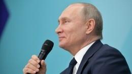 Путин: России неподходит модель «наставничества» всистеме высшей власти