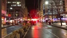 Полицейские нейтрализовали подозреваемого встрельбе вСиэтле— видео