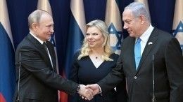 Владимир Путин встретился сБиньямином Нетаньяху