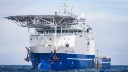 Шведское судно исследует маршрут «Северного потока— 2» нафоне санкций США