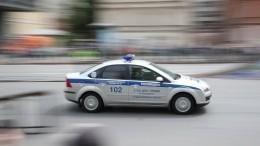 Автомобиль влетел востановку вЛюберцах вМосковской области