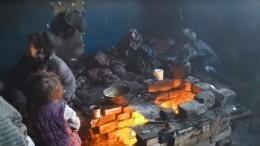 Отца счетырьмя детьми обнаружили взаброшенном доме вЧите