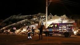 Число жертв землетрясения вТурции возросло до21, ранены 1030 человек