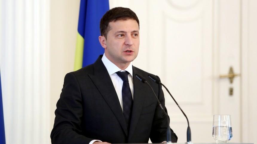 «Шрам между Украиной иРоссией»,— Зеленский оконфликте навостоке страны