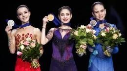 Российские фигуристки завоевали весь призовой пьедестал Чемпионата Европы