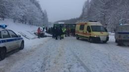 Десять человек пострадали вДТП спассажирским автобусом вПермском крае