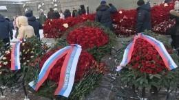 Секретарь Совбеза РФПатрушев почтил память погибших вгоды блокады Ленинграда