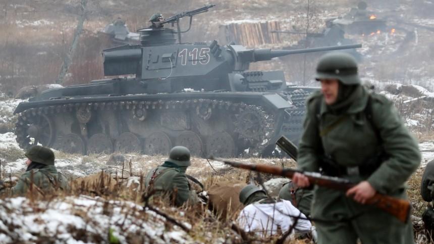 Военно-историческая реконструкция «Январский гром» прошла вЛенобласти