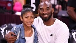 Дочь баскетболиста Коби Брайанта была вместе сотцом наборту разбившегося вертолета