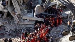 Число погибших врезультате землетрясения вТурции достигло38