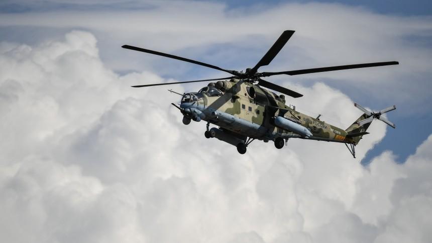 Российский вертолет Ми-24 вСША признали высокоэффективным