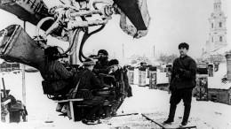 Как снимали кино вблокадном Ленинграде