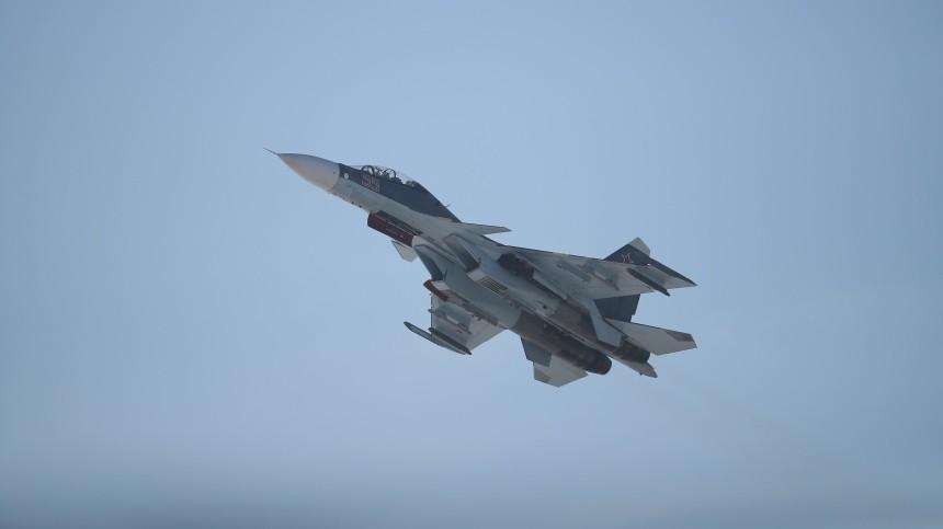 Истребитель Су-30 разбился насеверо-востоке Алжира