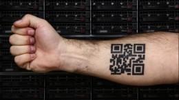 Татуировку сперсональным QR-кодом готовы сделать более 8% россиян