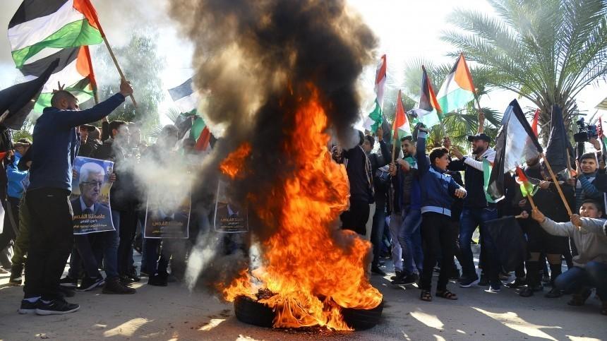 Сделка века: Дональд Трамп столкнул лбами палестинцев иизраильтян