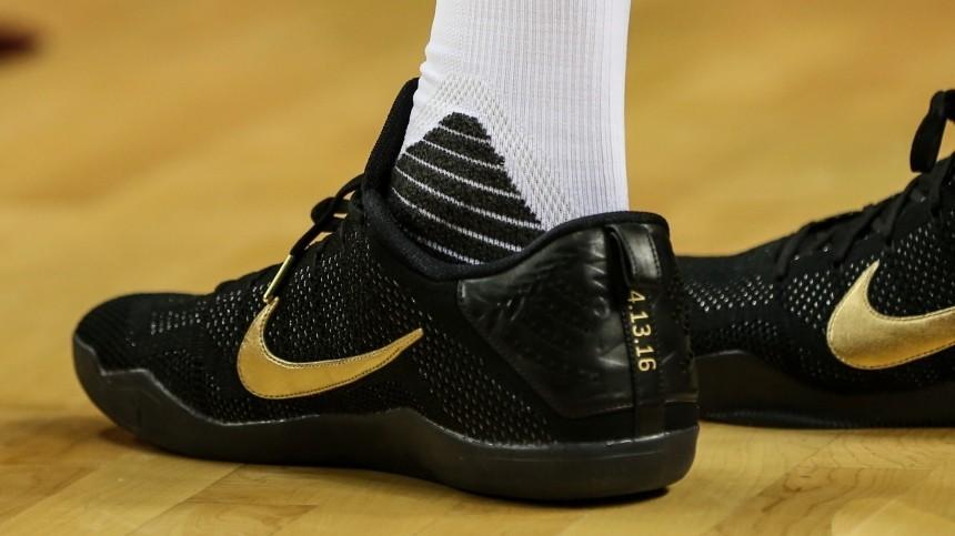 Кроссовки коллаборации Nike иКоби Брайанта смели сприлавков задва дня