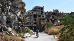 Минобороны: САР наносила удары исключительно попозициям боевиков итехнике