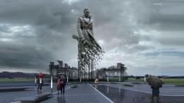 ВТверской области начали установку монумента Советскому солдату