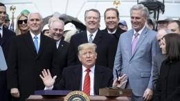 Конгресс США одобрил законопроекты, ограничивающие право Трампа вести войну сИраном