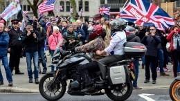 «Позор!»— ВЛондоне прошло шествие против Brexit изаЕвросоюз